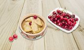 image of cherries  - Ukrainian varenyky  - JPG