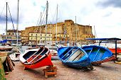 picture of old boat  - Castel dell - JPG
