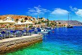picture of greek-island  - beautiful Greek island Symi - JPG