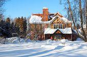 Cottage Winter Wonderland