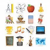 Education Set Of Icons
