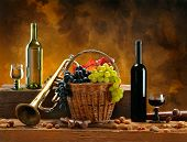 stock photo of wine grapes  - Still - JPG