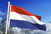 Netherland Flag (Clipping Path)