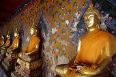 Budha statue, wat arun, bangkok, thailand