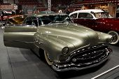 HELSINKI, FINLAND - OCTOBER 3: X-Treme Car Show, showing 1952 Buick Super, front view on October 3,