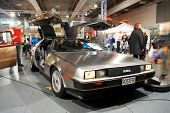 HELSINKI, FINLAND - OCTOBER 3: X-Treme Car Show, showing 1982 Delorian DMC-12  on October 3, 2009 in