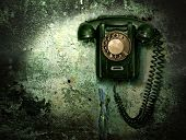 pic of phone-booth  - Old phone  - JPG