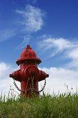 Hidrante vermelho