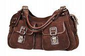 Suede Female Handbag