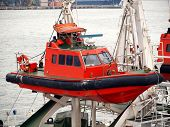 Coastguard Rescue Boat