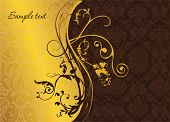 Elegant gold and burgundy background image