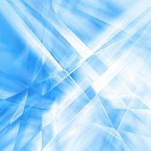 Abstract background image in light blue