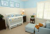 Interior of a nursery