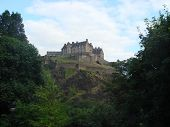 Edinburgh Castle from Princes Street.