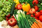 picture of fruits vegetables  - This is a close - JPG