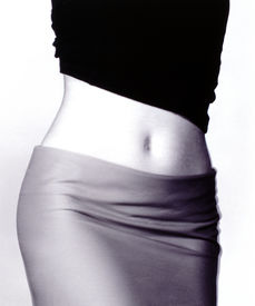 stock photo of body shapes  - belly body - JPG