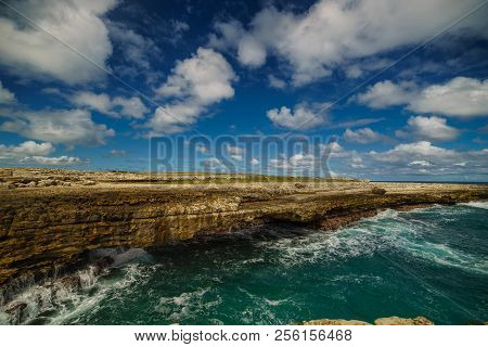 Devils Bridge Bay Caribbean Tropical