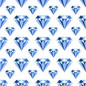 Vector Pattern With Diamonds. Seamless Pattern Can Be Used For Wallpaper, Pattern Fills, Web Page Ba poster