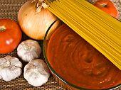 Spaghetti Sauce & Ingredients