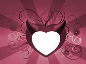 Valentines Funky Heart