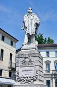 Monument Of Giuseppe Garibaldi In Vicenza
