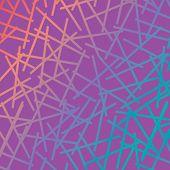 Um padrão de vetor cruzam, colorido.