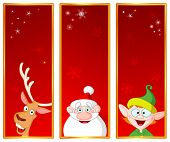 picture of rudolf  - Christmas banners - JPG