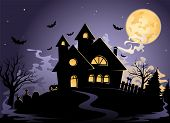 Spooky House at Halloween's night