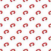 Circular Arrow Pattern. Cartoon Illustration Of Circular Arrow Pattern For Web poster