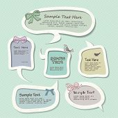 speech bubbles templates