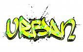 graffiti text urban