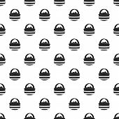 Basket Of Berries Pattern. Simple Illustration Of Basket Of Berries Pattern For Web poster