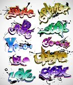 Graffiti vector