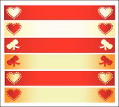 Banners For Valentine'S Day.Eps