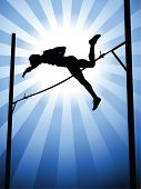 picture of pole-vault  - Pole vault - JPG