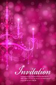 Luxury Chandelier background 04