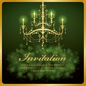 Luxury Chandelier background 11