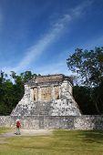 Man discover Mayan pyramid ruin