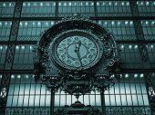 Paris - Ancient Clock In The Orsay Museum