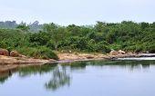 Victoria Nile Scenery In Uganda