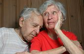 Elderly Bored Married Couple