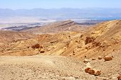Mountains In The South Of Israel, Down To The Red Sea