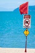 Jelly Fish Warning Sign