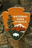 National Park Service sign at Muir Woods National Monument