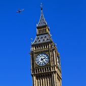 Aircraft Flying Over Westminster