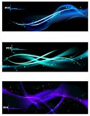 Smooth Waves Design Template Background