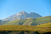 stock photo of piccolo  - Corno Grande And Corno Piccolo Peak - JPG
