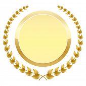 laurel wreath design