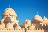 foto of stratus  - Beautiful architecture of Mosque in Hurghada - JPG