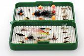 Tackle Box Of Flies